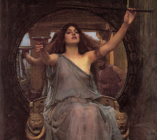 John William Waterhouse, Circe Offering The Cup To Ulysses, 1891