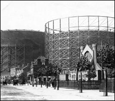 East Greenwich gas holders