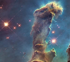 Hubble, the 'Pillars of Creation'