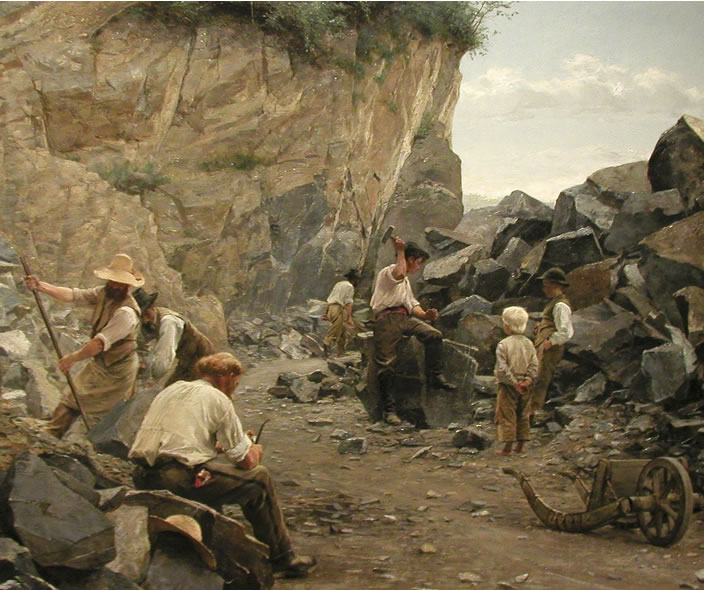 Axel Jungstedt, In the Quarry