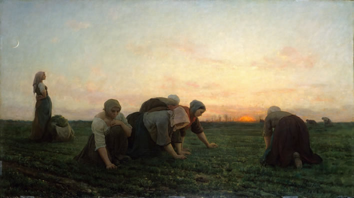 Jules Breton, The Weeders