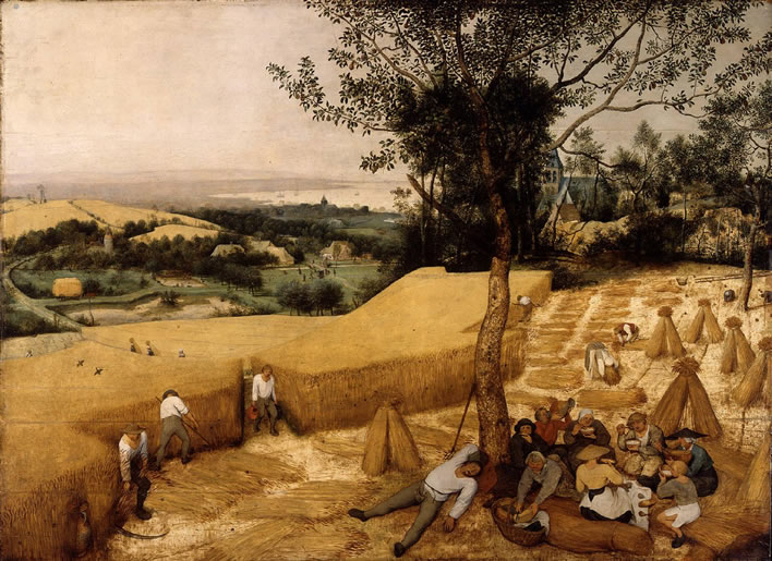 Pieter Bruegel the Elder, The Harvesters