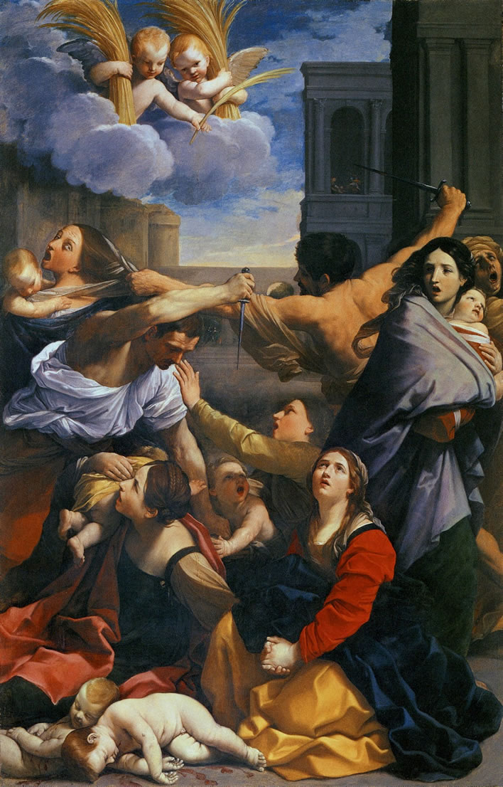 Guido Reni, The Massacre of the Innocents, 1611