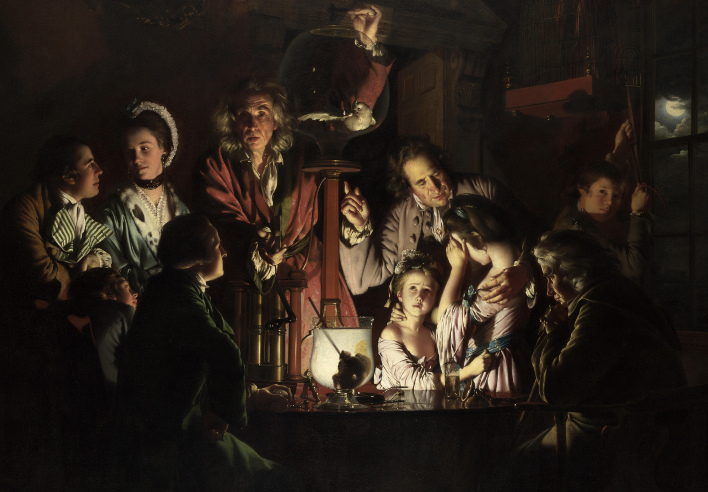 Joseph Wright of Derby_An Experiment on a Bird in the Air Pump_1768