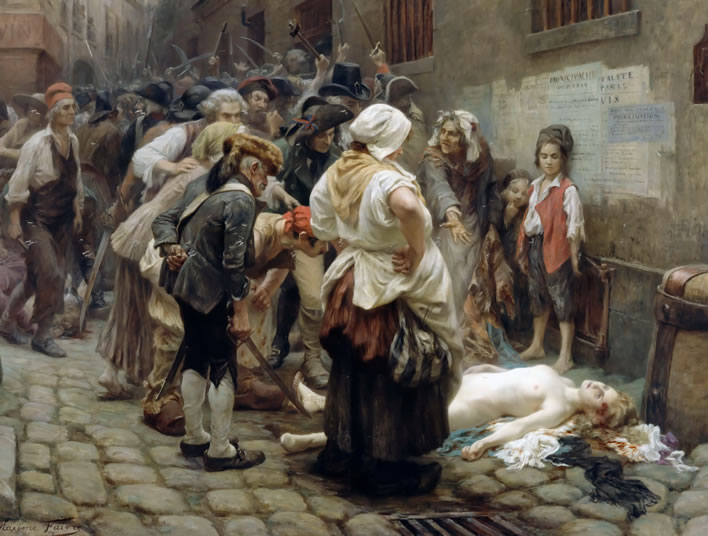 Léon-Maxime Faivre, Death of the Princess de Lamballe (1908)