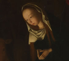 Geertgen tot Sint Jans, The Nativity at Night, c 1490. National Gallery, London.