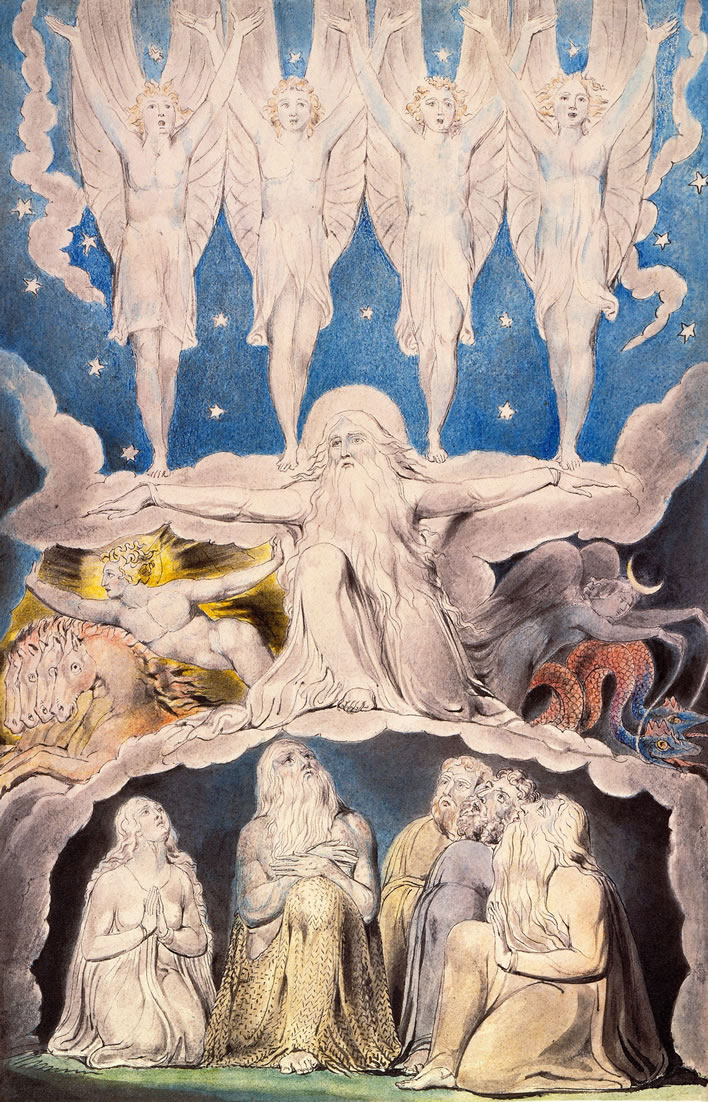 William Blake, Book of Job, When the Morning Stars Sang Together