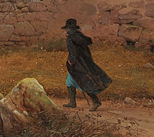 Karl Julius von Leypold, The Wanderer in the Storm