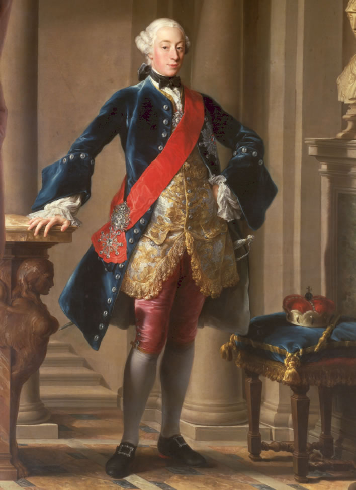 Pompeo Batoni: Carl Eugen, Duke of Württemberg (1728-1793) in 1753