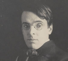 William Butler Yeats in 1903, photographed by Alice Boughton