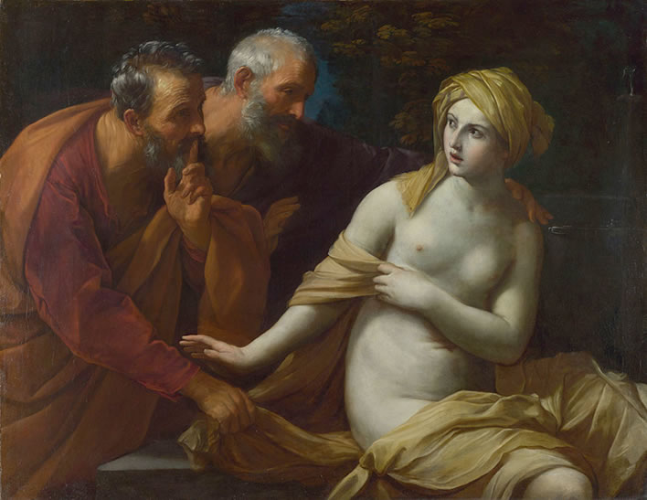 Guido Reni, Susannah and the Elders, 1620-25