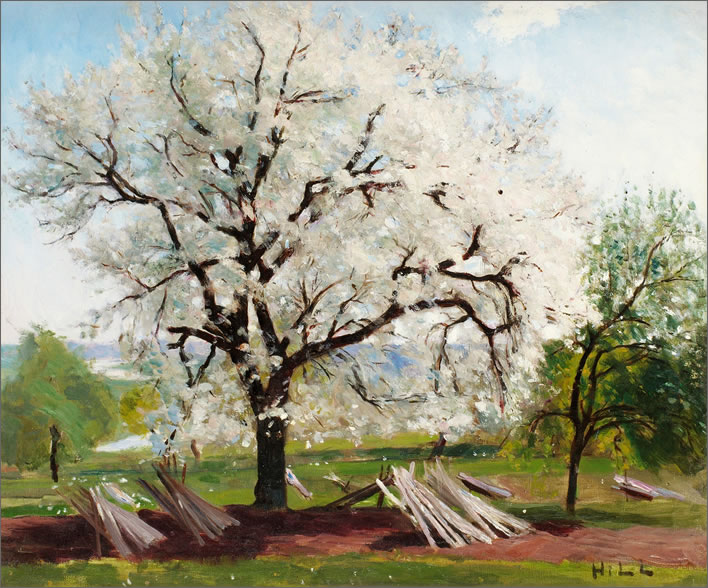 Carl Fredrik Hill, The Flowering Fruit Tree, 1877
