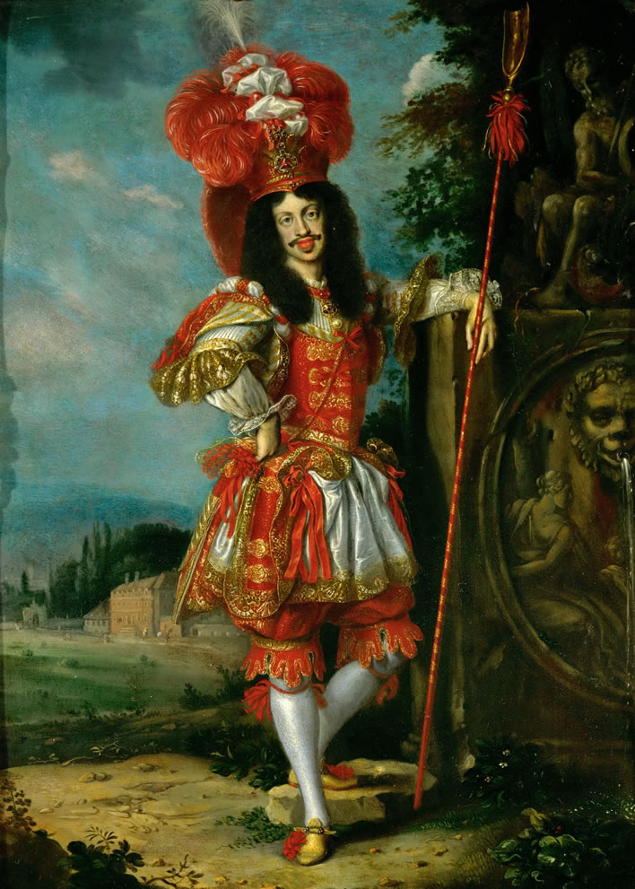 Emperor Leopold I in theatre costume
