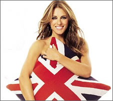 It was that Liz Hurley wot won it (I still don't see what that Shane Warne saw in her)