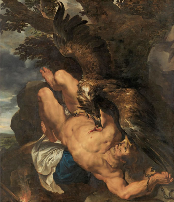 Peter Paul Rubens and Frans Snyders, 'Prometheus Bound' (c. 1618)