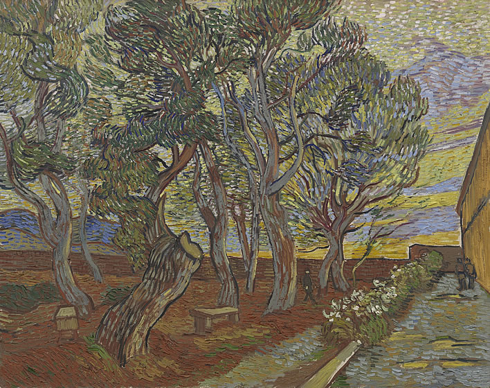 Vincent van Gogh, Garden of the Asylum, 1889