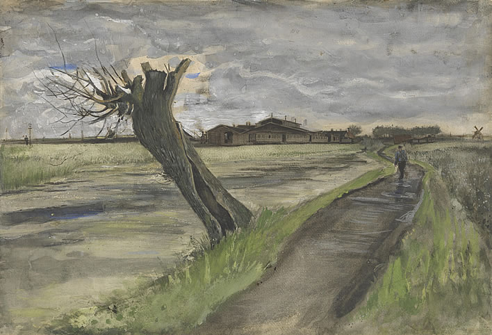 Vincent van Gogh, Pollard Willow, 1882