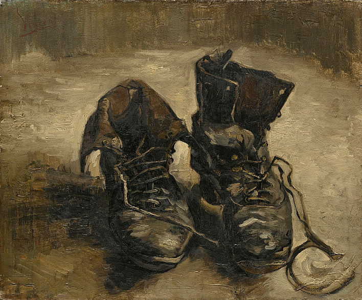 Vincent van Gogh, Shoes, 1886