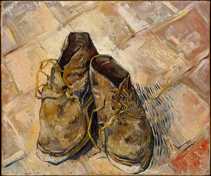 Vincent van Gogh, Shoes, 1888