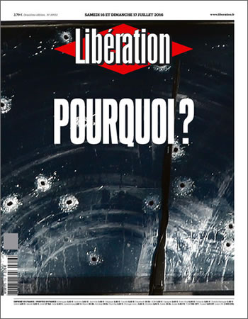 La Libération, weekend edition 16/17 July 2016