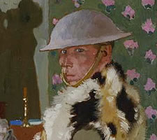 William Orpen, 'Ready To Start. Self Portrait'