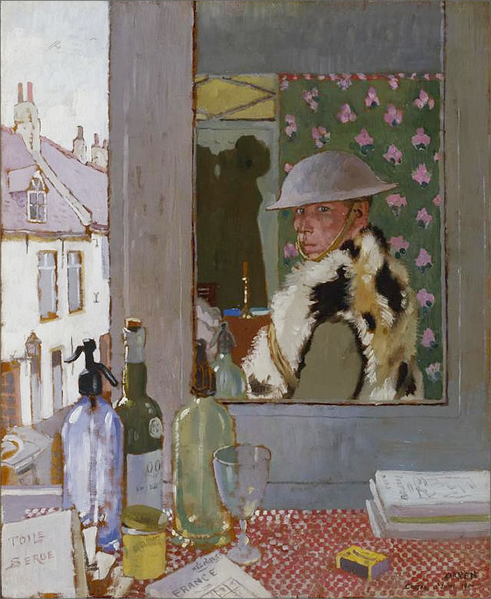 William Orpen Ready To Start. Self Portrait, 1917