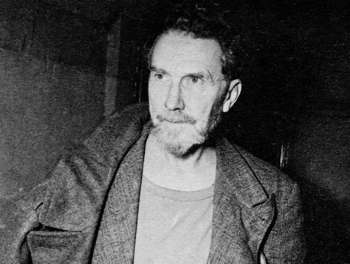 Ezra Pound following arraignment in Washington D.C. on 20 November 1945