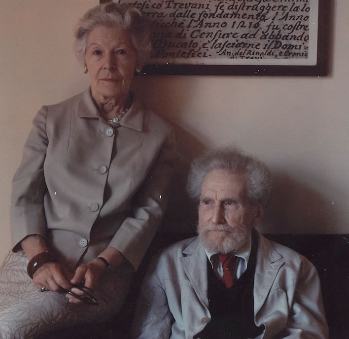 Ezra Pound and Olga Rudge, ND. Image: Beinecke Library, Yale; ©Olga Rudge Estate