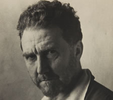 Ezra Pound (46), photographed by a certain Berta Himmler in 1939. Image: Beinecke Library Yale YCAL MSS 54 ©Olga Rudge Estate