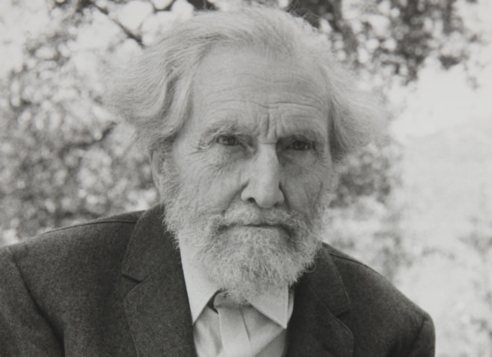 Ezra Pound, undated. Image: Beinecke Library, Yale; ©Olga Rudge Estate.