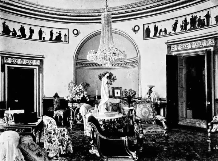 Caledon House Drawing room c. 1910