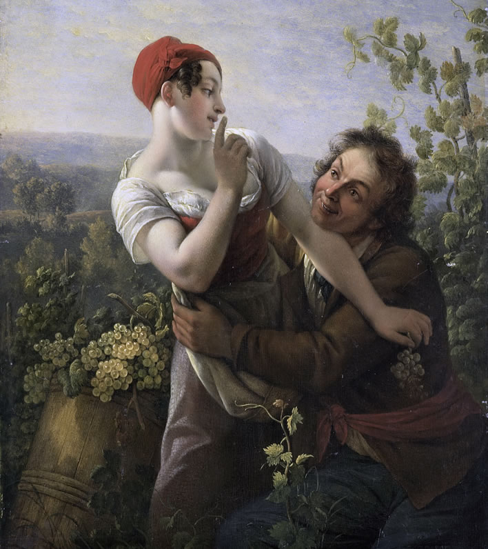Paul Joseph Noel, The Impassioned Grape Picker, 1817-1819