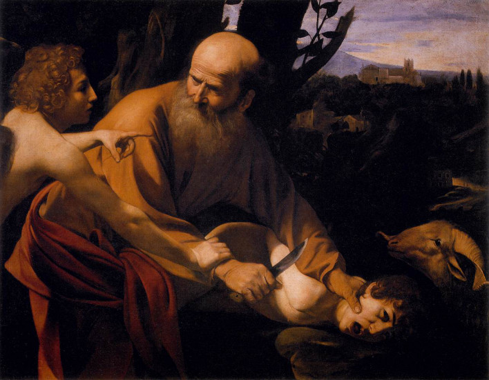 Caravaggio: The Sacrifice of Isaac