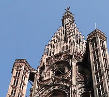 Looks nice from down here: Strasbourg Cathedral Spire.