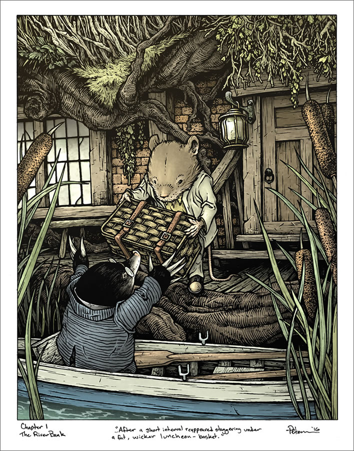 David Petersen, 'The Wind In The Willows', 2016.