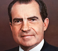 Richard Nixon. Image: www.whitehouse.gov/1600/presidents/richardnixon