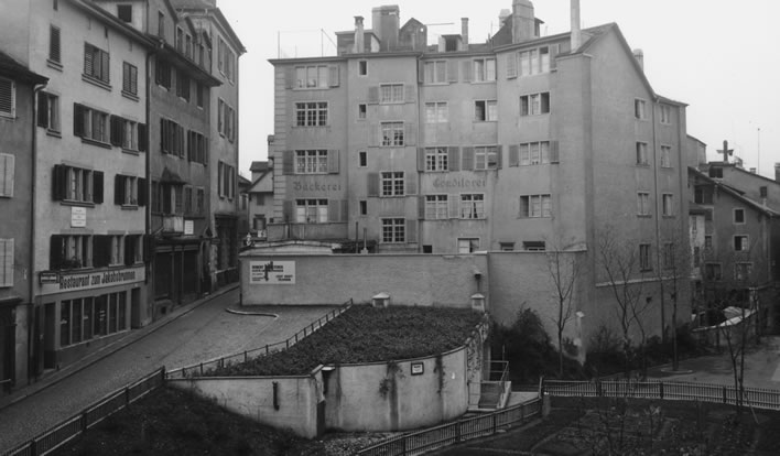 Spiegelgasse 14 and 16 in 1940.