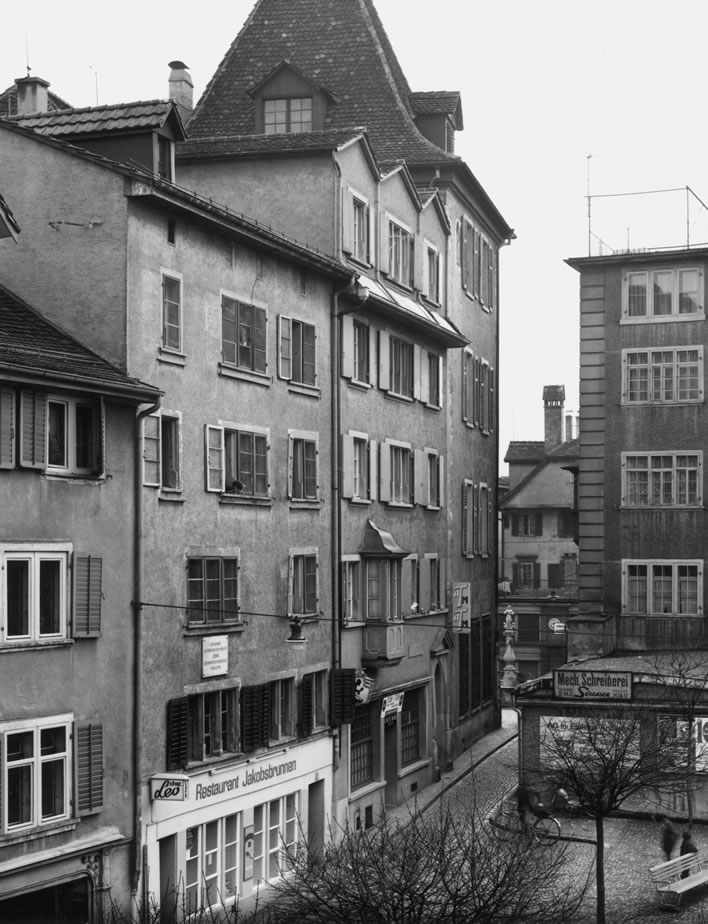 Spiegelgasse 14 and 16 in 1967.