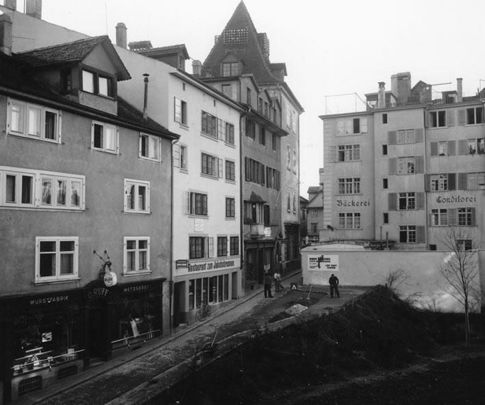 Spiegelgasse 12, 14 and 16 in 1939.