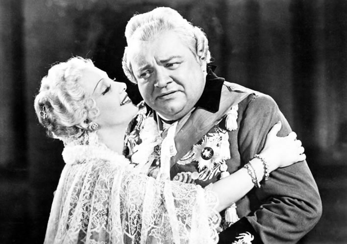Carl Eugen and Franziska: a still from the film 'Friedrich Schiller' from 1940.