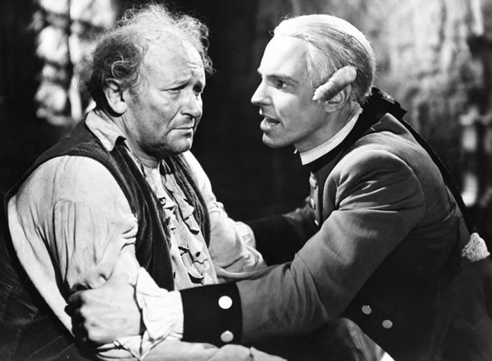 When Schubart met Schiller: a still from the film 'Friedrich Schiller' from 1940