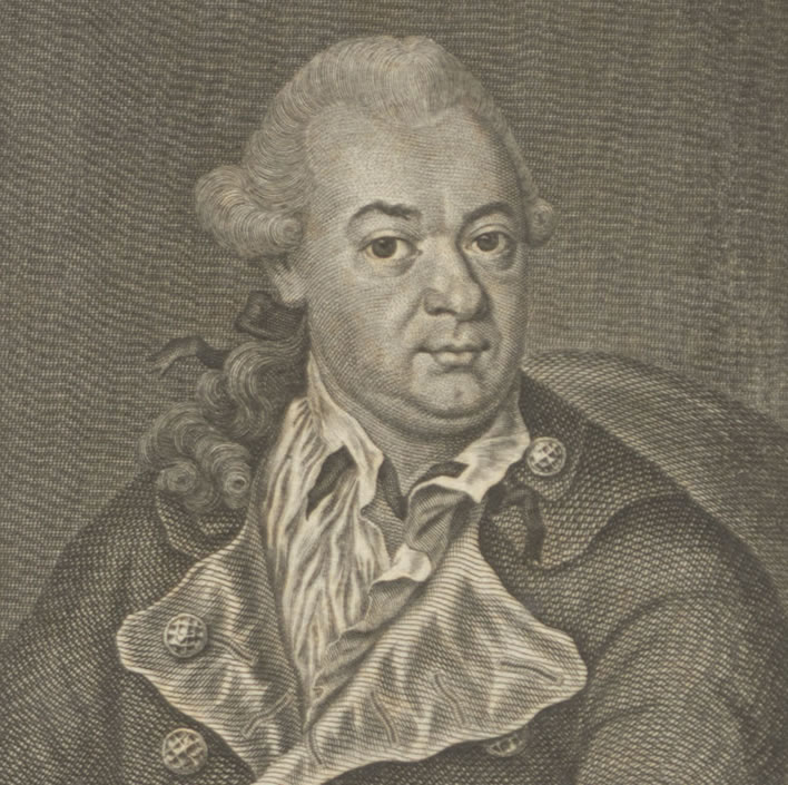 Christian Friedrich Daniel Schubart, engraved by Johann Michael Söckler, 1781