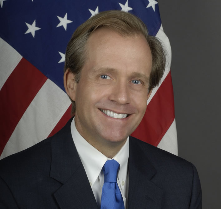 Lewis Lukens, Charge d'affaires ad interim in London. Image ©U.S. Department of State