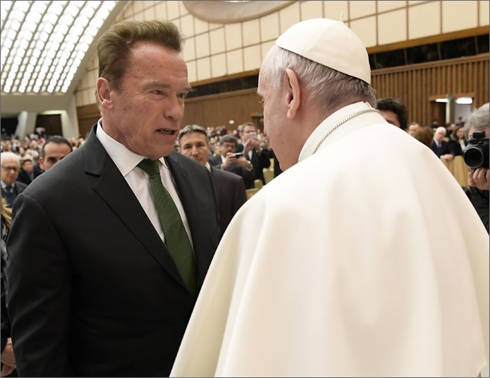 Arnie and Pope