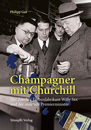 Philipp Gut, Champagner mit Churchill, 2015