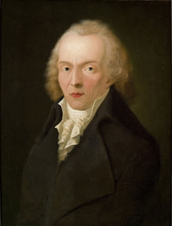 Jean Paul Friedrich Richter painted in 1798 by Heinrich Pfenninger (1749-1815).