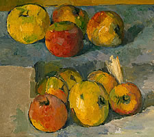 Paul Cézanne (1839-1906), Apples, 1878-79