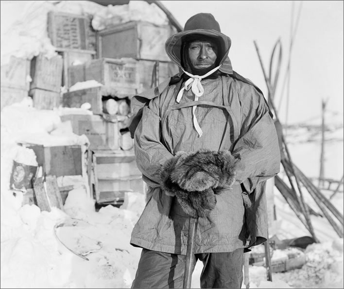 Terra Nova expedition: Petty Officer Edgar Evans.