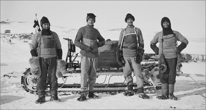 Terra Nova expedition: The Motor Party.