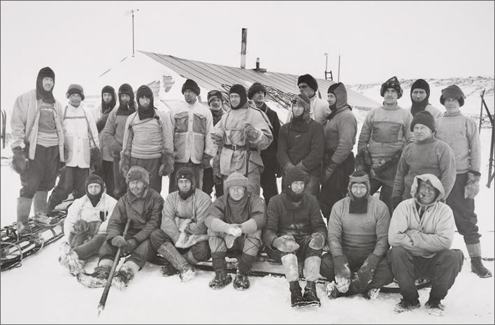 Terra Nova expedition: the Shore Party.